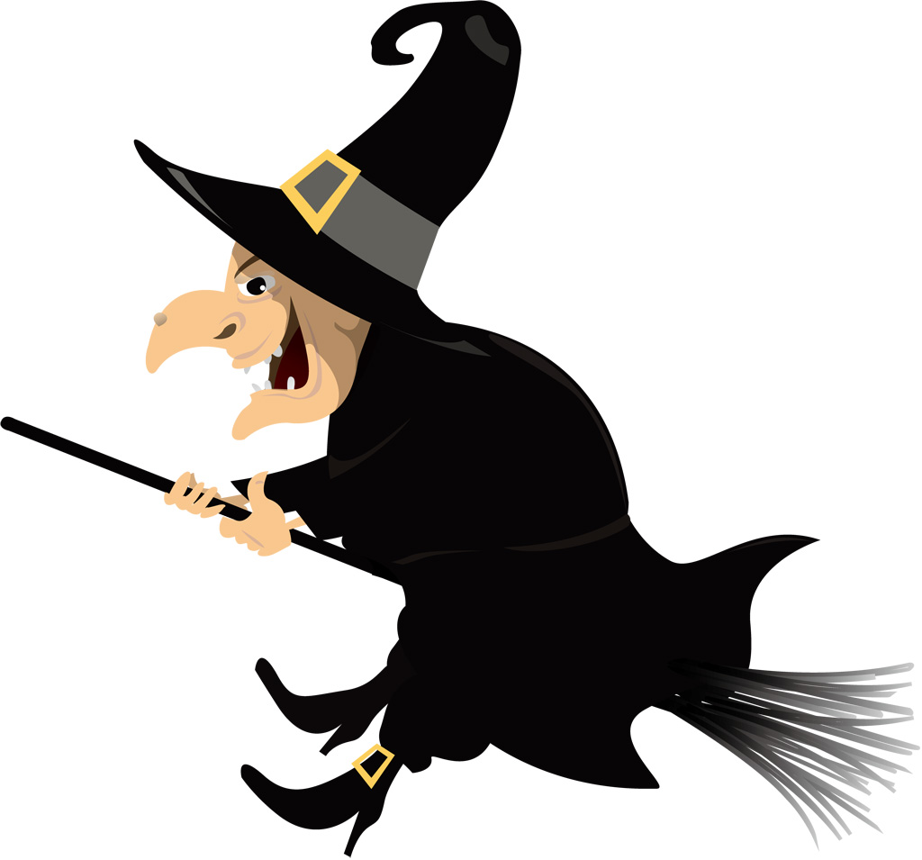 ハロウィンイラスト「無料の魔女」、どんなのが?